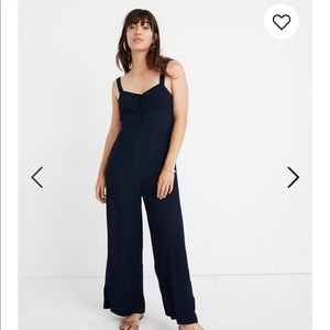 Madewell jumpsuit Navy Size 8- worn once